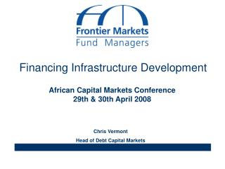 Financing Infrastructure Development