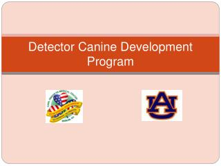 Detector Canine Development Program