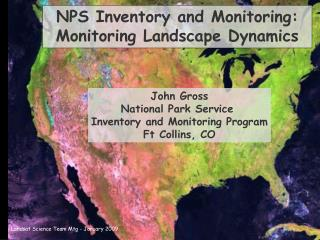 NPS Inventory and Monitoring: Monitoring Landscape Dynamics