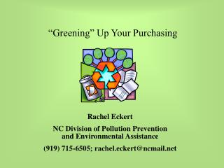 Greening  Up Your Purchasing