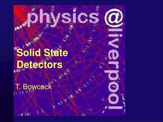Solid State Detectors