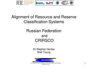Alignment of Resource and Reserve Classification Systems ...
