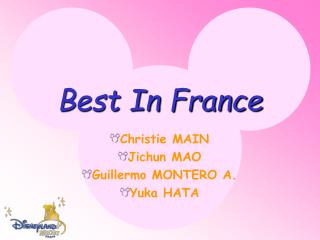 Best In France