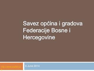 Savez opcina i gradova Federacije Bosne i Hercegovine