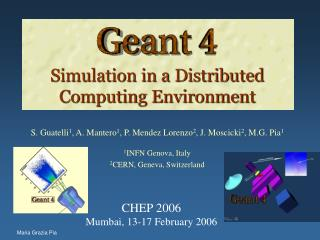Simulation in a Distributed Computing Environment