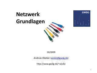 Netzwerk  Grundlagen