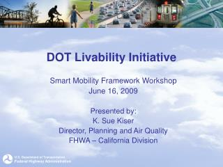 DOT Livability Initiative