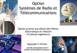 Option  Syst mes de Radio et T l communications
