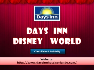 days inn disney world