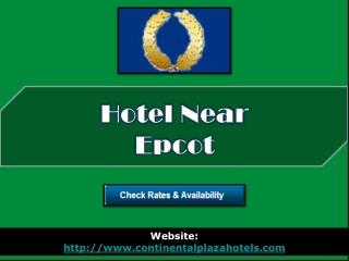 hotel near epcot