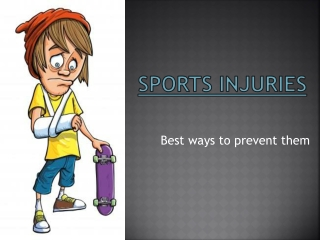 sports injuries & best way to prevent them