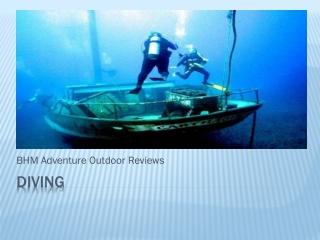 BHM Adventure-Diving