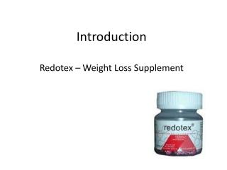 Redotex - Weight Loss Supplement