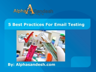 5 Best Practices For Email Testing