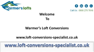 Add Space to Your Homes with Right Loft Conversions