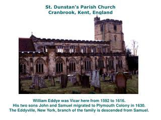 St. Dunstan s Parish Church Cranbrook, Kent, England