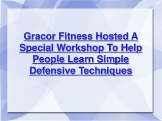 gracor fitness - fitness company