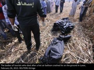 Balloon tragedy in Egypt
