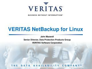 VERITAS NetBackup for Linux