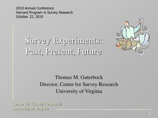 Survey Experiments: Past, Present, Future
