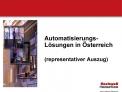 Automatisierungs-L sungen in  sterreich   representativer Auszug