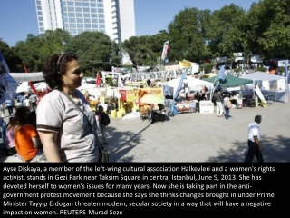 One woman's Taksim protest