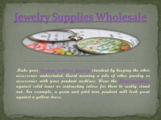 Jewelry Supplies Wholesale
