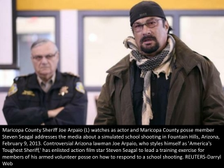 Defending schools with Steven Seagal