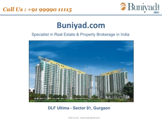 DLF Ultima Gurgaon | For booking just call @ 9999011115