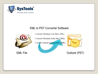 EML to PST Conversion tool