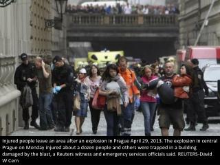 Explosion shakes Prague