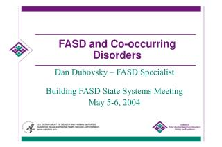 FASD and Co-occurring Disorders