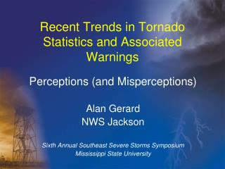 Recent Trends in Tornado Statistics and Associated Warnings