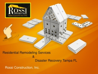 Residential Remodeling Services Tampa Florida-Rossi Construc