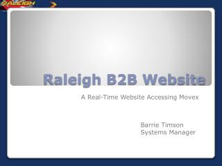 Raleigh B2B Website