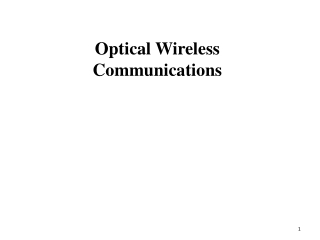 Wireless Underwater Communications Network
