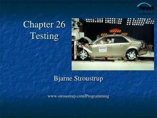 Chapter 26 Testing