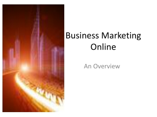 Business Marketing Online