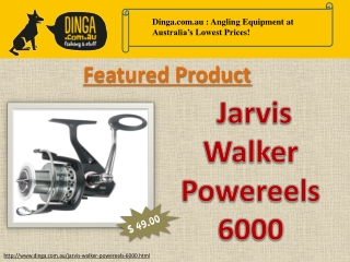 Jarvis Walker Powereel 6000 Spinning Reel