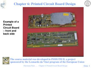 Chapter 6: Printed Circuit Board Design