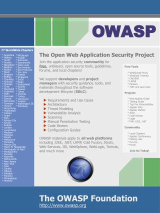 The OWASP Foundation