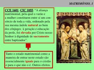 MATRIM NIO, 1