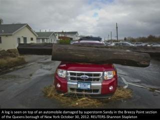 The wrecks of Sandy