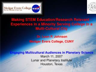 Making STEM EducationResearch Relevant - Experiences in a ...