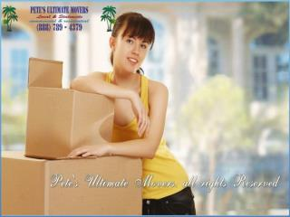 pete's ultimate movers - moving company tampa, fl