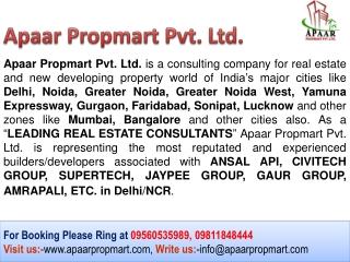 Civitech Stadia $$ 09560535989 @@ Sector 79 Noida Luxury Apa