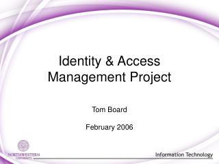 Identity  Access Management Project