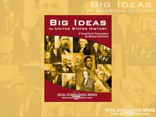 What Is a  Big Idea