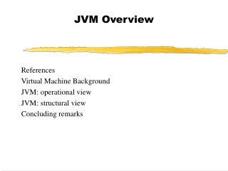 JVM Overview