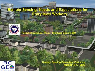 Remote Sensing: Needs and Expectations for Entry-level Workers